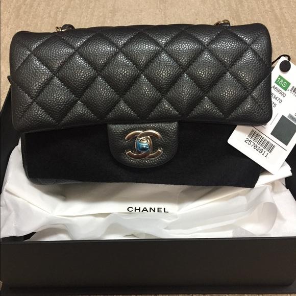 a74d04d67c5b CHANEL Bags | Rectangular Mini With Gold Hardware | Poshmark